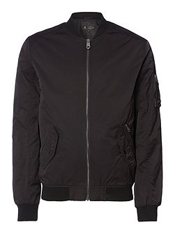 Fagan Baseball Neck Bomber Jacket