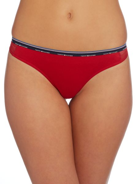 Tommy Hilfiger Micro stripe thong