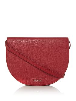 Club red pouch crossbody