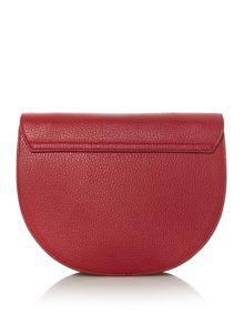 Furla Club red pouch crossbody