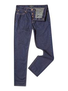 Howick Belmont Regular Fit  Dark Wash Jean