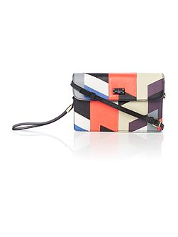 The Rissington Collection Multi Flapover Clutch