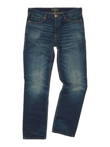 Howick Belmont Regular Fit Vintage Wash Jean