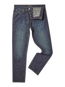Howick Belmont Regular Fit Indigo Wash Jean