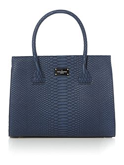 The Westwell Collection Black Winged Tote