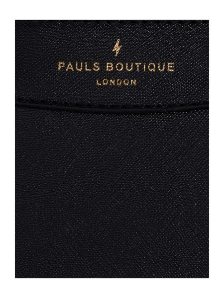 Paul's Boutique The Trinity Collection Black Small Tote