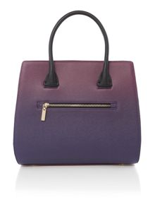 Paul's Boutique The Berwick Collection Burgundy Tote