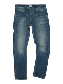 Linea Aiden Slim Fit Mid Blue Jean