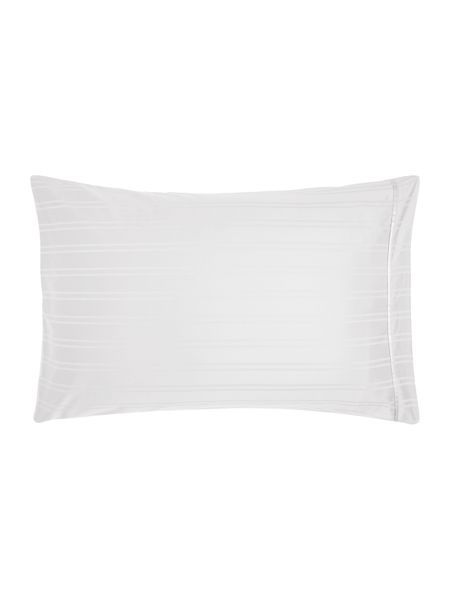 Luxury Hotel Collection Dobby stripe housewife pillowcase pair