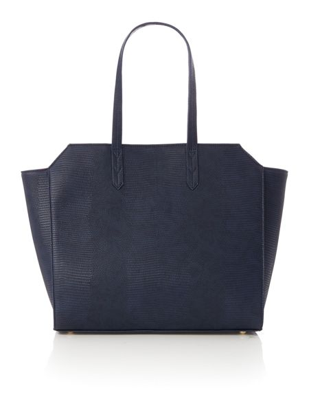 Paul's Boutique The Limehouse Collection Navy/Coral Winged Tote