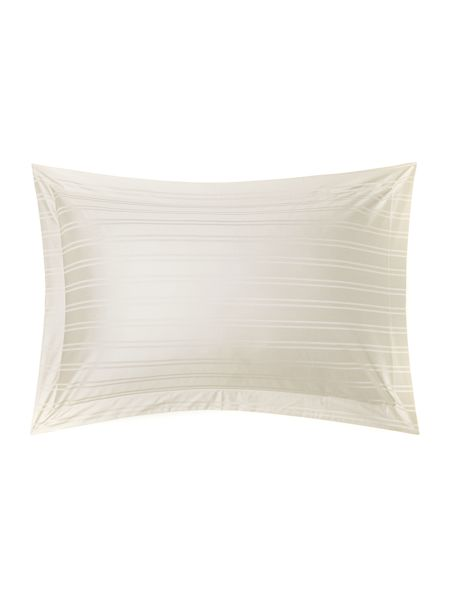 Luxury Hotel Collection Dobby stripe oxford pillowcase pair