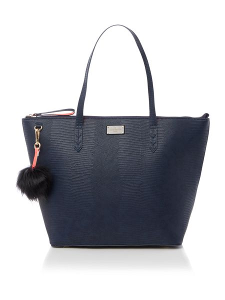 Paul's Boutique The Limehouse Collection Navy/Coral Tote