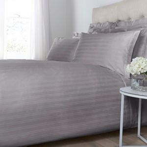 Luxury Hotel Collection Dobby stripe oxford square pillowcase pair