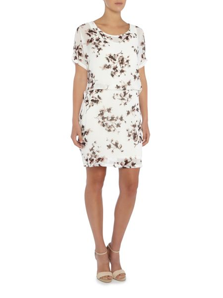 Vila Short Sleeve Tunic Dress