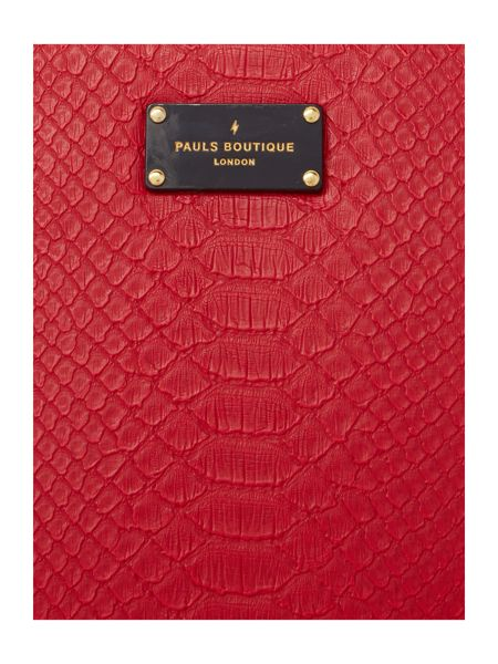 Paul's Boutique The Limehouse Collection Red Tote