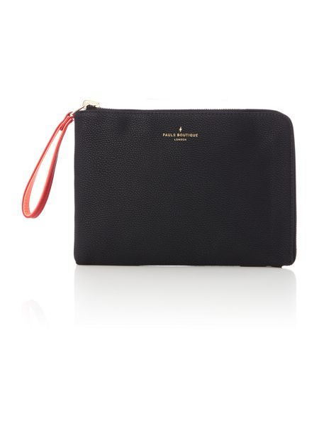 Paul's Boutique The Limehouse Collection Blk/Rd Reversible Pouch