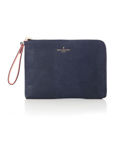 Paul's Boutique The Limehouse Collection Nvy/Crl Reversible Pouch