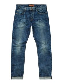 Label Lab Dart Taper Leg Vintage Wash Jean