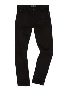Label Lab Lock Skinny Black Jean