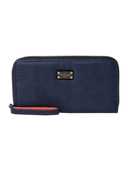 Paul's Boutique The Limehouse Collection Navy Zip Around