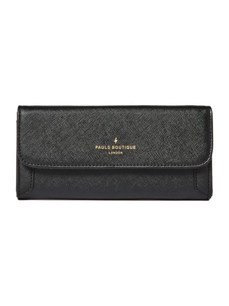 Paul's Boutique The Trinity Collection Black Flapover Purse