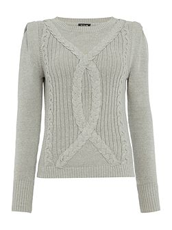 Knitted Long Sleeve Jumper