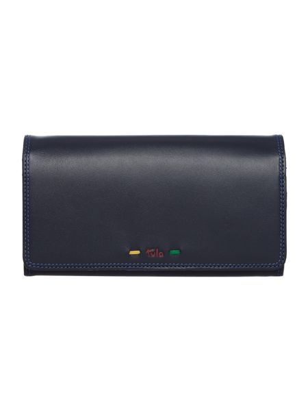 Tula Violet navy large flapover purse