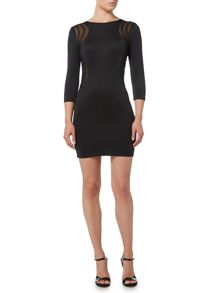 tfnc Long Sleeved Bodycon Dress
