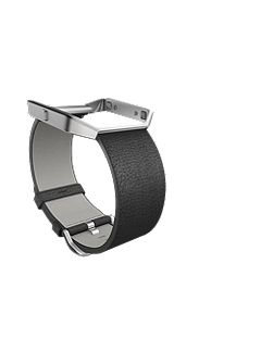 Blaze Black Leather Accessory Band, Small