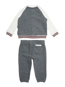 Polo Ralph Lauren Baby Boys Baseball Sweater & Jogger Set