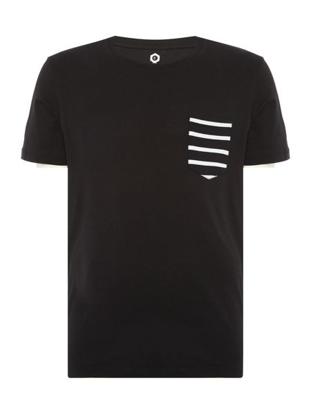 Jack & Jones Stripe Pocket Short Sleeve T-shirt