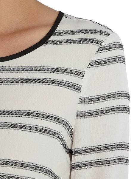 Vero Moda Long Sleeve Stripe Top