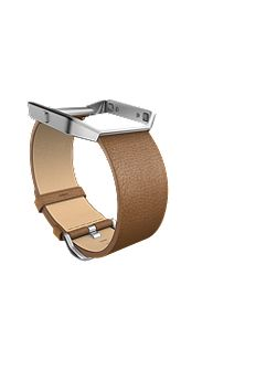Blaze Camel Leather Accessory Band, Large