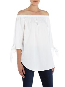 Vero Moda 3/4 Sleeve Off Shoulder Top
