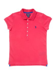 Polo Ralph Lauren Girls Logo Polo Shirt