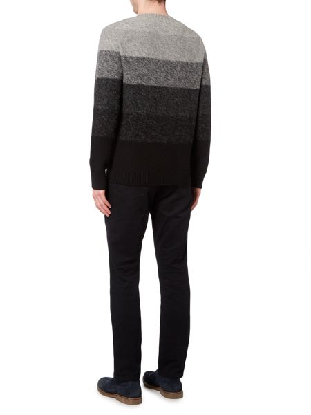 Linea Alencon Textured Stripe Jumper