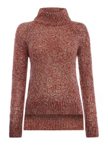 Vero Moda Funnel Neck Longsleeve Knit Jumper