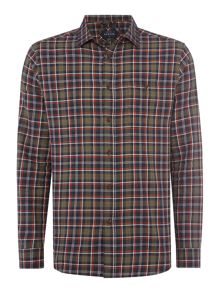 Howick Hornsea Check Long Sleeve Shirt