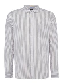 Howick Dillingham Stripe Long Sleeve Shirt
