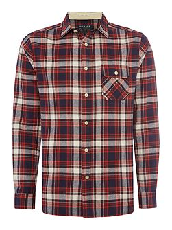 Yosemite Brushed Check Long Sleeve Shirt