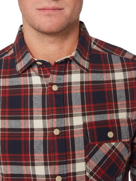 Howick Yosemite Brushed Check Long Sleeve Shirt