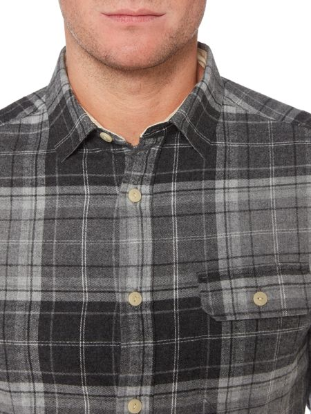 Howick Manhattan Brushed Check Long Sleeve Shirt