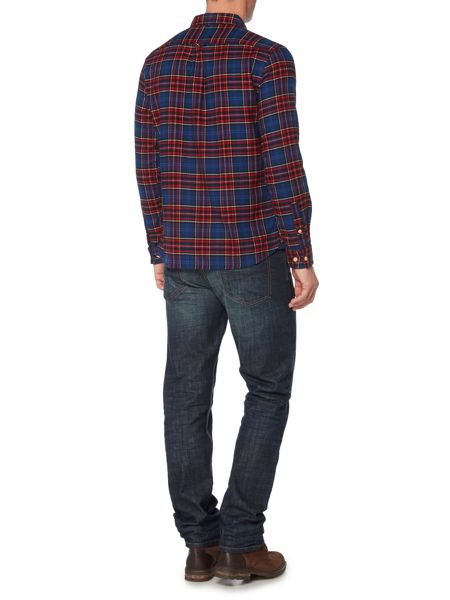 Howick Mercer Brushed Check Long Sleeve Shirt