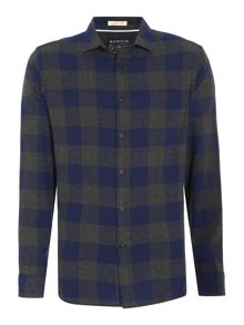 Howick Fullerton Brushed Check Long Sleeve Shirt