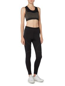 Label Lab Seam detail full length black leggings