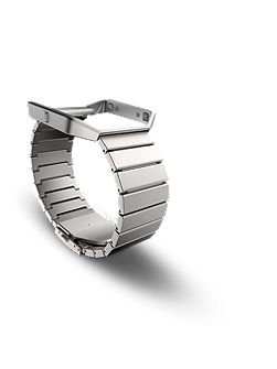 Blaze metal link band, stainless steel, one size