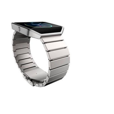 Fitbit Blaze metal link band, stainless steel, one size