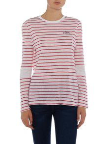 Zoe Karssen Long sleeve love series top