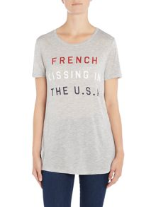 Zoe Karssen Short sleeve french kissing tee