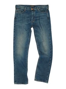 Howick Belmont Blue Wash Denim Jeans